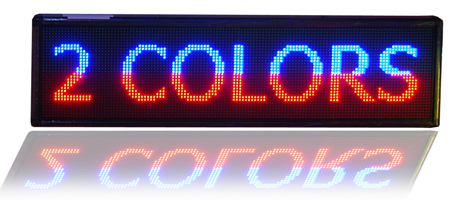 Led Sign 2 colors
